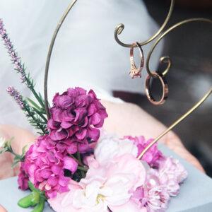 Purple Lover Ring hanger