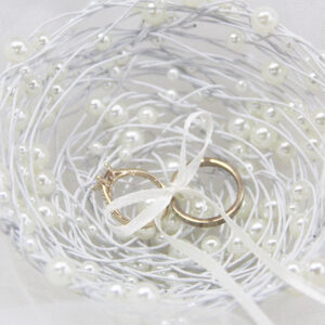Pearl Bird Nest Ring Holder