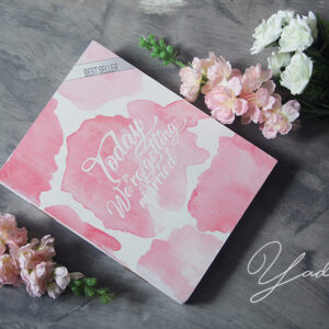Today we're getting married – Drop Top Guest book