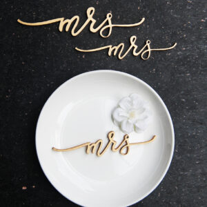 Mr-Mrs Place cards