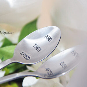 And they lived happily ever after – Stamped Spoon