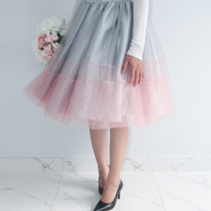 Gray&Pink Ombre Tutu Skirt – Custom made tutu skirt