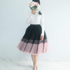 Black&Pink Tutu Skirt – Custom made tutu skirt