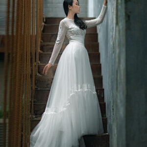 Boho Bridal skirt – Custom made tutu skirt