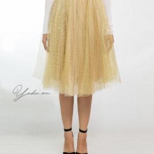 Gold Skirt- Custom made tutu skirt
