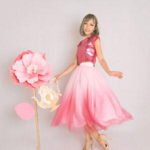 Pink Ombre Tutu skirt – Custom made tutu skirt