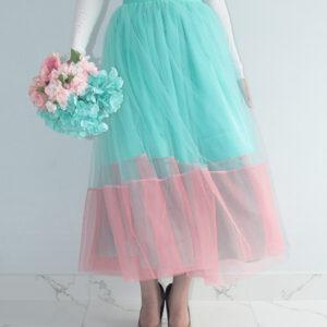 Mint&Pink Ombre Tutu Skirt – Custom made tutu skirt