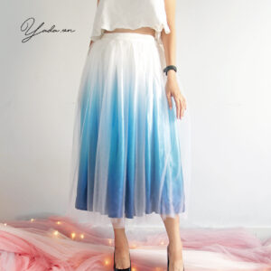 Blue Skirt – Gradient Collection- Code 01