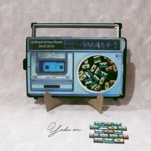 Blue Radio- Video Tape -Drop Top Guest book
