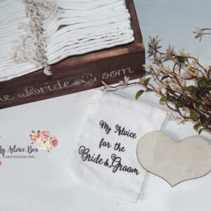 Advice box for the Bride & Groom