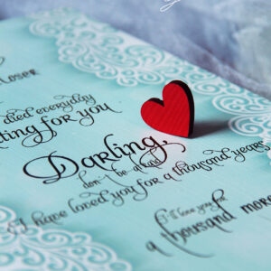 Dream come true the day I met you- Drop Top Guest book