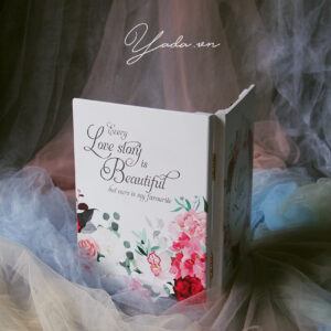 A true love story – Drop Top Guest book