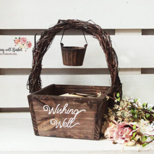 Wishing Well Basket – Rustic look