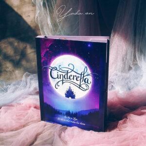 Cinderella – Drop Top Guest book