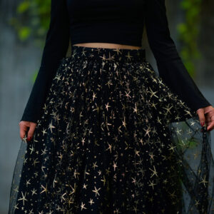 Black Stars Skirt – Custom made tutu skirt