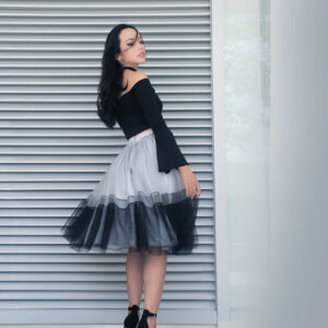 Gray&Black Ombre Tutu Skirt – Custom made tutu skirt
