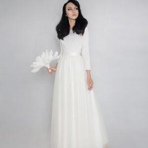 White Skirt- Custom made tutu skirt