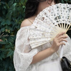 Tiffany Lace Fan