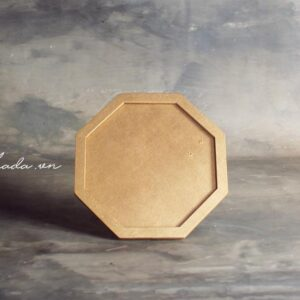 Polygons Gold Picture Frame
